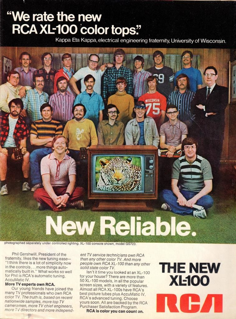 KHK RCA AD Newsweek